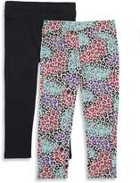 Vigoss Little Girl's Two-Piece Elasticized Pants
