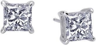 Lafonn Princess Cut Simulated Diamond Earrings