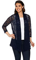 stretch lace cardigan - ShopStyle