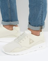 Le Coq Sportif R Mono Luxe Sneakers In Beige 1710469