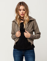 Full Tilt Twill Womens 2-Fer Jacket
