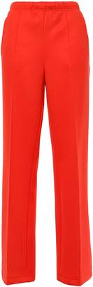 Prada Appliqued Tech-jersey Wide-leg Pants
