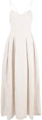 Mara Hoffman Lauren striped flared dress