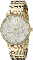 Versus By Versace Women's SOR120015 MANHASSET Analog Display Quartz Gold-Tone Watch