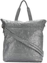 Rick Owens large crinkled tote bag