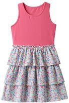 Jumping Beans Girls 4-10 Jumping Beans® Patterned Tiered Skirt Dress