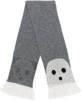 Stella McCartney tassel-trimmed ghost scarf