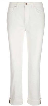 Brunello Cucinelli High Rise Denim Jeans