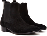 Hudson Watts Suede Boot Black