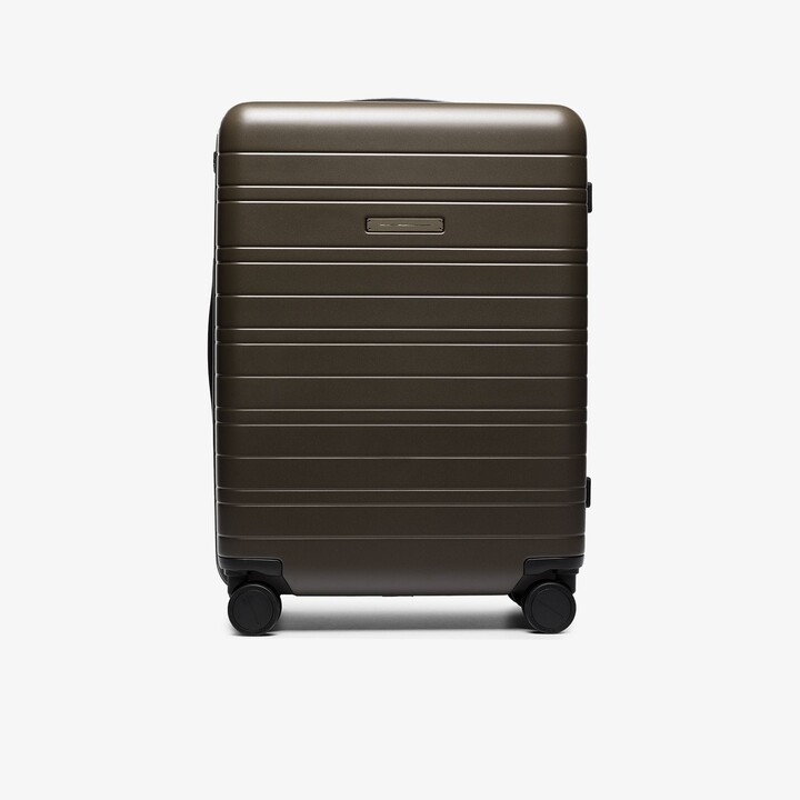 Horizn Studios Green H5 check-in suitcase