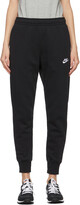 Thumbnail for your product : Nike Black Sportswear Club Lounge Pants