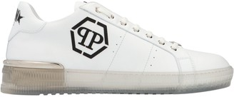 Philipp Plein Embroidered Logo Sneakers