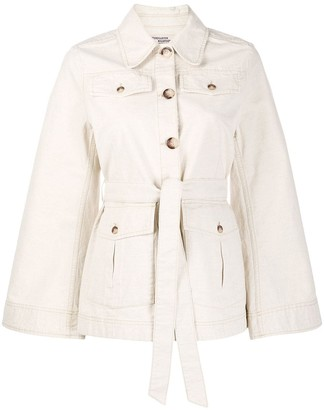 Baum und Pferdgarten Wide Sleeve Belted Military Jacket