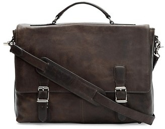 Frye Logan Top-Handle Soft Leather Briefcase