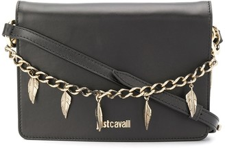 Just Cavalli Leaf Charm Cross Body Bag