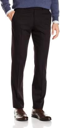 Perry Ellis Men's Black Solid Suit Separate Pant 40W x 32L