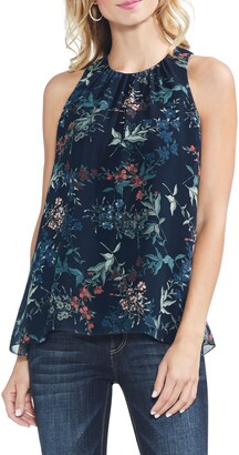 Vince Camuto Garden Heirloom Floral Blouse