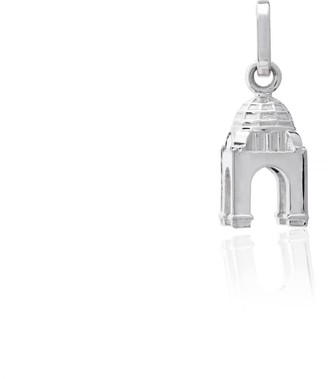 Tane Exquisitely Detailed Monument To The Revolution Charm Handmade In Sterling Silver
