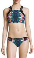 Nanette Lepore Habanera Stargazer Bikini Top