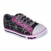 Skechers Twinkle Toes Sparkle Glitz Girls Sneaker - Little/Big Kids