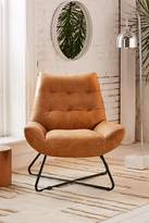 Urban Outfitters Seymour Leather Chair