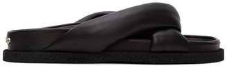 Kenzo Black Komfy Thong Flat Sandals