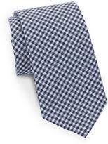 Black Brown 1826 Classic Gingham Tie