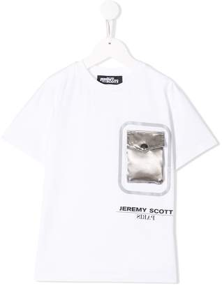 Jeremy Scott Junior TEEN flap pocket T-shirt