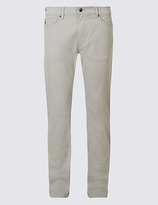 Blue Harbour Straight Fit Cotton Rich Trousers