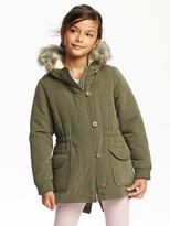 Old Navy Faux-Fur-Trimmed Parka for Girls