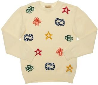 Gucci Intarsia Cotton Sweater