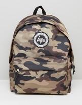 Hype Backpack In Khaki Camo
