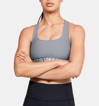 Under Armour Women's UA Crossback Mid Sports Bra