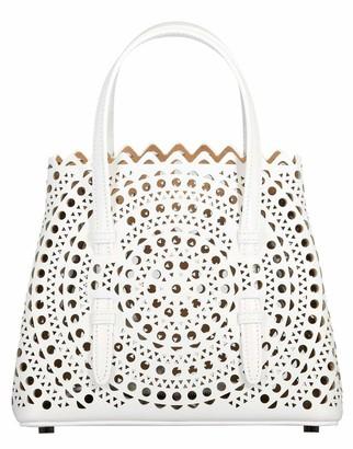 Alaia Blanc Mina 20 Tote Bag