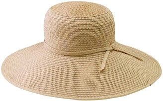 San Diego Hat Co. Ribbon Braid Sun Hat with Tie
