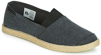 Quiksilver ESPADRILLED M SHOE SBKM men's Espadrilles / Casual Shoes in Black