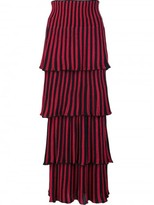 Sonia Rykiel layered ribbed skirt