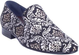 Robert Graham Men's Gibbons Jacquard Cotton Loafers