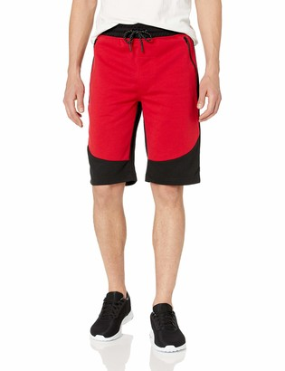 WT02 Men's Colorblock Tech Fleece Shorts