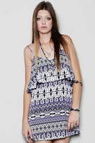 Blu Moon Summer Lovin' Dress in Purple Aztec