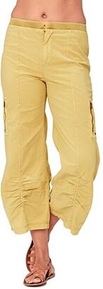 XCVI Cavan Crop Pants in Stretch Poplin (Charlock Pigment) Women's Casual Pants
