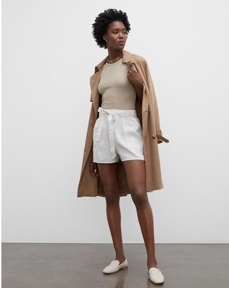 Club Monaco Belted Pull-On Shorts