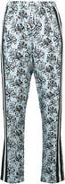 Robert Rodriguez orchid print tapered trousers