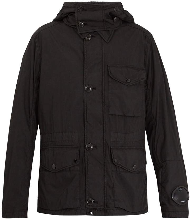C.P. Company Goggle hooded zip-through jacket