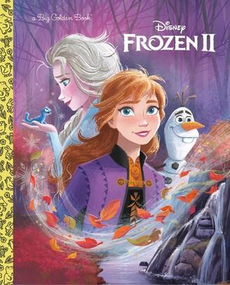 Disney Storybook Art Team Frozen 2 Big Golden Book (disney Frozen 2)