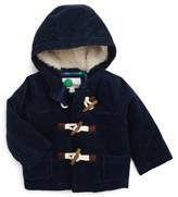 Toddler Boy's Mini Boden Corduroy Duffle Jacket