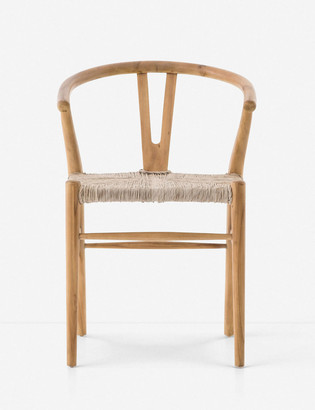 Lulu & Georgia Gradie Indoor / Outdoor Dining Chair, Natural