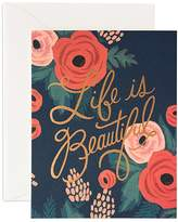 Rifle Paper Co. Life is Beautiful Card