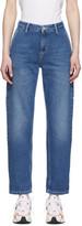 Carhartt Work In Progress Blue Pierce Jeans