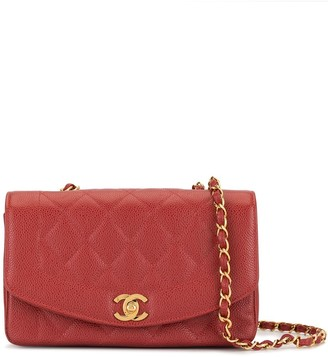 Chanel Pre Owned Quilted Chain Shoulder Bag